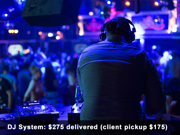 Rent DJ Systems Houston