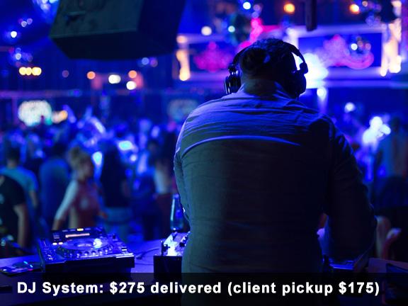 Rent DJ Systems Houston